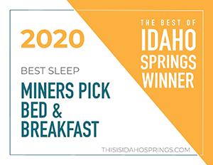 Idaho Springs Best Of 2020 Winner